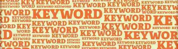 Keyword-ecommerce