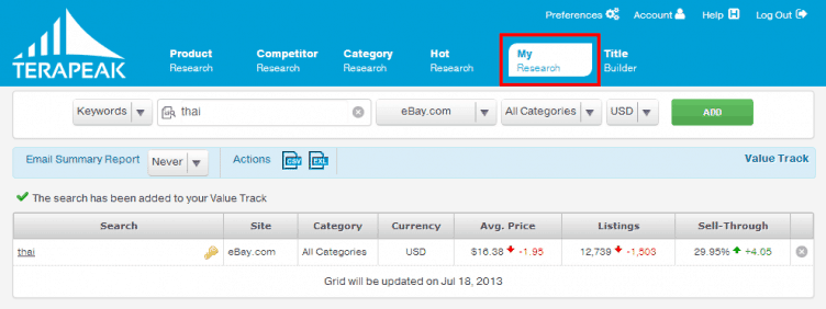 รีวิว Terapeak amazon + eBay ง่ายๆ ได้ใจความ 18
