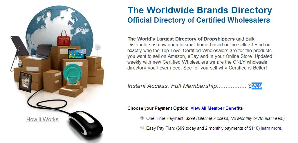 Worldwide Brands dropship