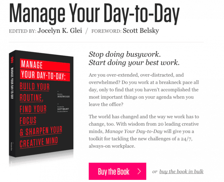 หนังสือ manage-your-day-to-day