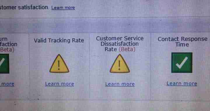 amazon valid tracking rate