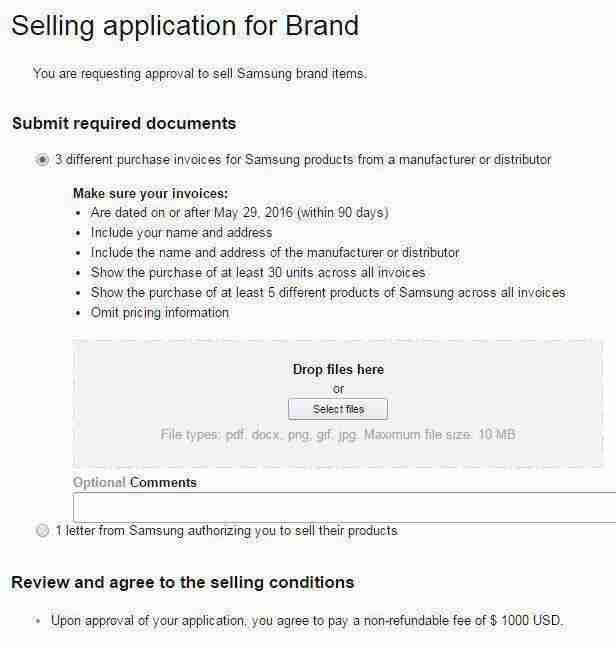 samsung Amazon Restricted