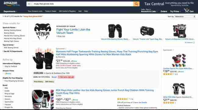 amazon search result ds amazon quick view